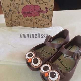 Brand New Mini Melissa Ultragirl Owl