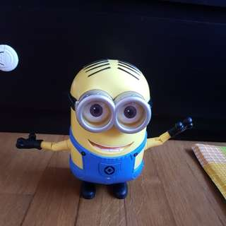Giant minion Dancing Dave authentic