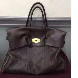 mulberry piccadilly oversized dark chocolate