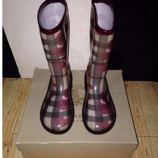 mulberry rubber boots size 5 ladies