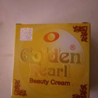 Face Whitening cream called Golden Pearl