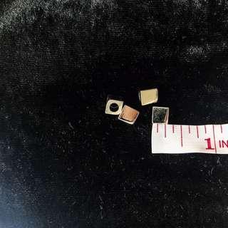 Accessories - Silver Diamond Aglets