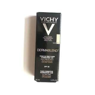 VICHY Dermablend Fluid 25 Nude 30ml 高效無瑕修正粉底 (色號#25)