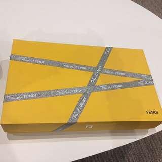 Fendi perfume gift box