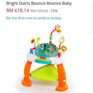 Brights Star Baby Bouncer