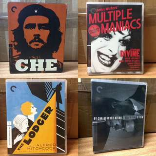 16x Criterion Collection Blu-ray's + DVD's / RARE IMPORTS / Region A