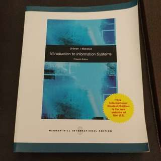 Introduction to info systems
