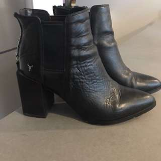Windsor smith leather ankle boots size 6