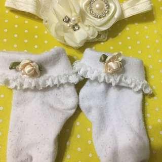 Head dress & socks
