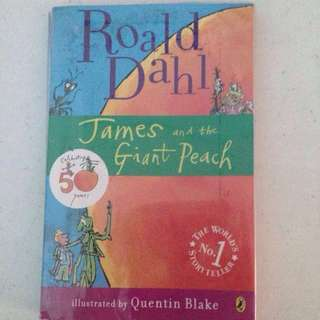 James And The Giant Peach (by Ronald Dahl)