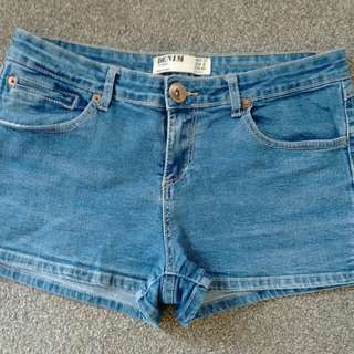 Size 12 denim shorts