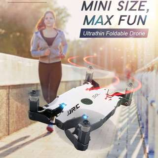 Ultra Thin Foldable WiFi Drone with Controller