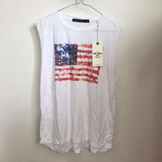 Bing Harris&co. American muscle tee