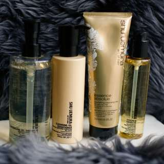 *Shu Uemura Essence Absolue Collection* Hair Product