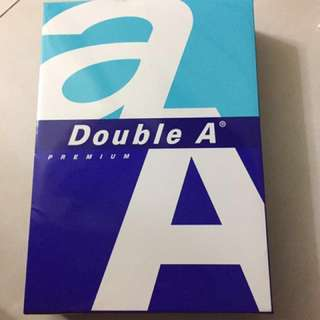 Double A A4紙 500張 A4paper