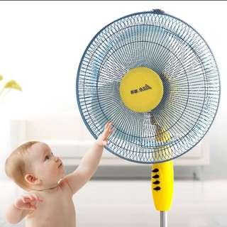 兒童 嬰兒 安全 風扇網 隔塵 易清洗