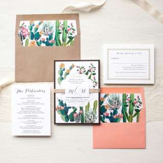 Affordable cheap budget wedding card printing
