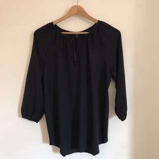 UNIQLO 3/4 Sleeves Blouse