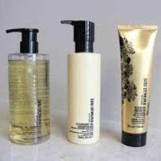 *Shu Uemura Onsen Cleansing Collection* Hair Product