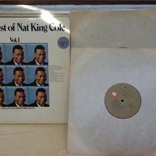 The Greatest of Nat King Cole vinyl