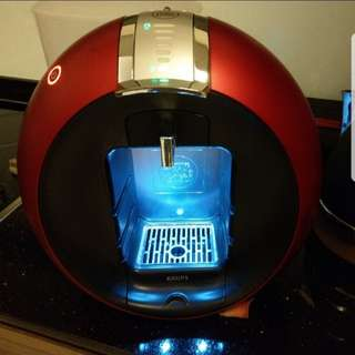 Dolce Gusto Coffee Machine - Red