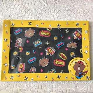 Line Brown x Cosmo 手挽袋 手袋 食飯袋