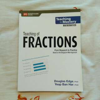 Brand New Primary Mathematics Fraction Book
