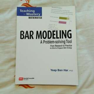 Brand New Primary Mathematics Bar Modeling Book