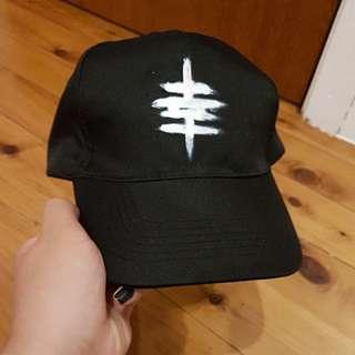 Japanese Unisex Black Cap
