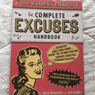 Complete Excuses Handbook