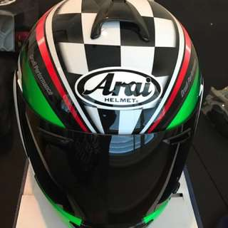 Brand New In Box Arai Helmet With Extra Tinted Visir