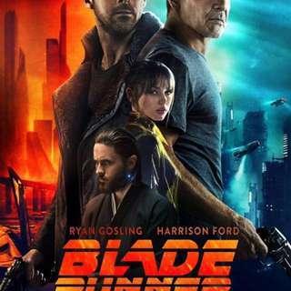 《銀翼殺手2049》(Blade Runner 2049) IMAX 2D特別場票x2