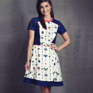 Plains and Prints Nikki dress - XL