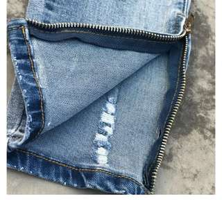 F.o.g ripped jeans (blue)