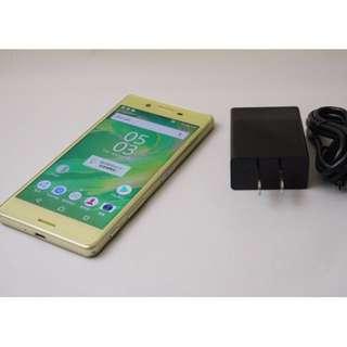 Sony Xperia X Performance 5 吋 雙卡 智慧 機 F8132 萊姆金