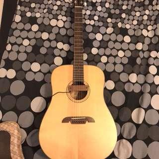 Alvarez AD30 Dreadnought in Natural Finish Acoustic Guitar