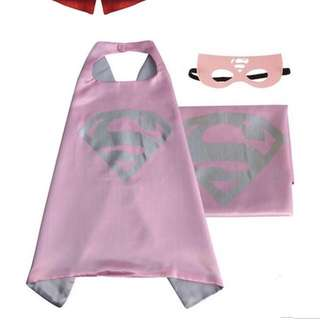 Superwoman cape with mask