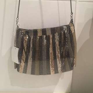 Brand New Oroton Glowmesh Shoulder Bag