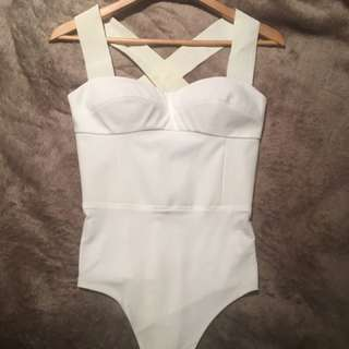 Brand New Sheike Berlin Ivory Bodysuit