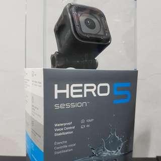 Opened Unused Gopro Hero 5 session