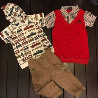 Boy Toddler Clothes Branded Bundle New (Include Postage)