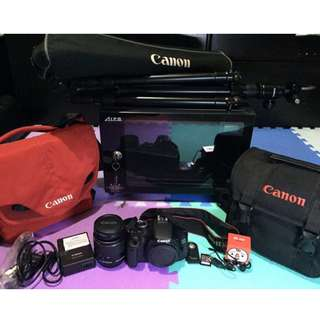 (20% FURTHER DISCOUNTED PRICE for a Limited Time only!) Canon EOS 600D DSLR All-in-Package