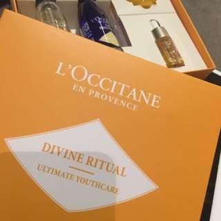 L'Occitane Divine Ritual travel sizes
