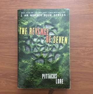 I am Number Four Book 5: The Revenge of Seven