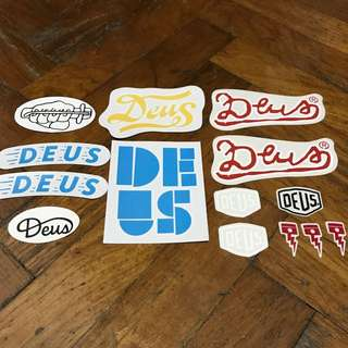 Deus Ex Machina Sticker