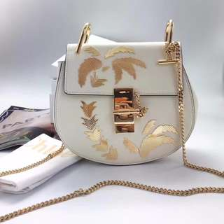 Chloe Drew Palm Tree Shoulder Bag