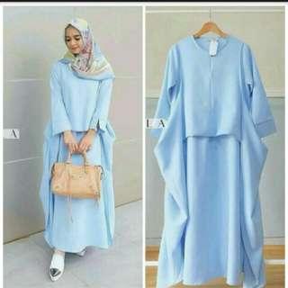 Ag dress celine busana muslim wanita