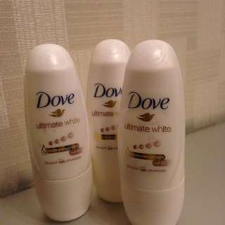 Dove Roll On Deodorant - Travel Size