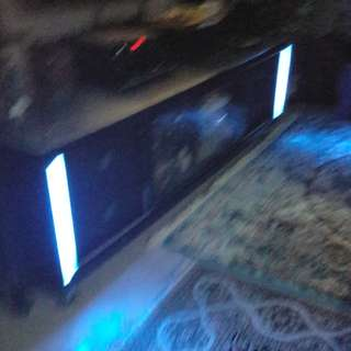 TV Console with lightings