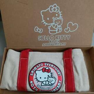 Hello Kitty 40 Anniversary小物袋